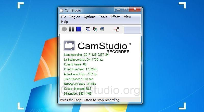 record with camstudio