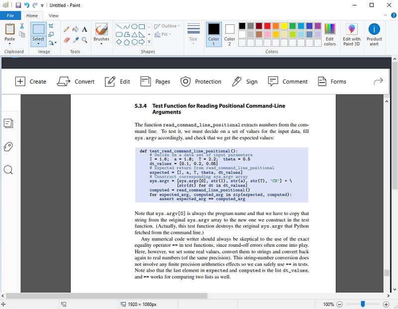edit the PDF image