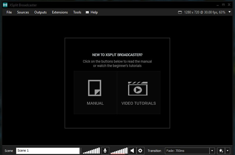 Broadcaster interface