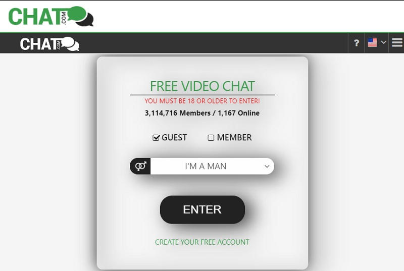 chat interface