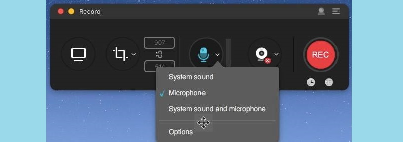 select audio source