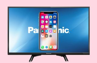 How to Connect and Mirror iPhone to Panasonic Smart TV