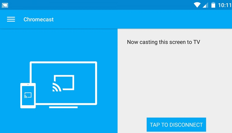 google cast mirroring