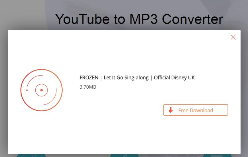 youtube link to mp3