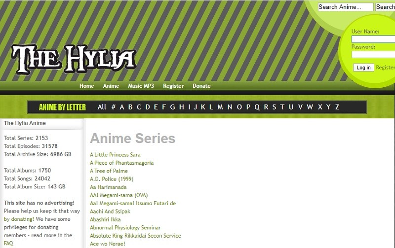 hylia interface