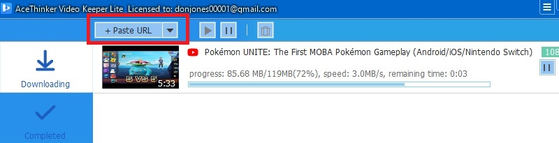 upload mp3 to youtube vlite downloading