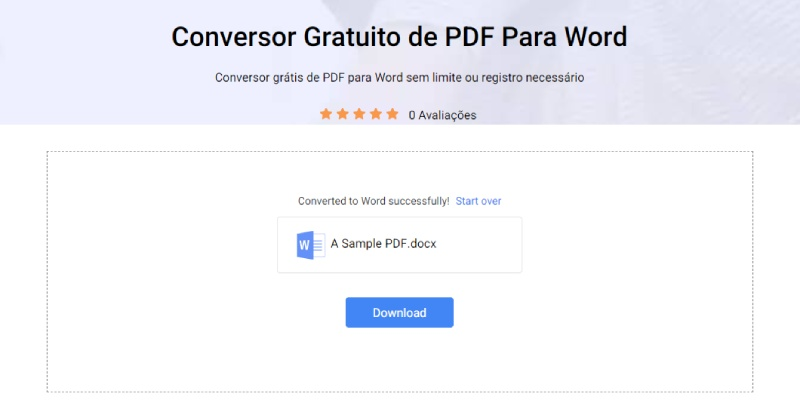 pdf converted to word