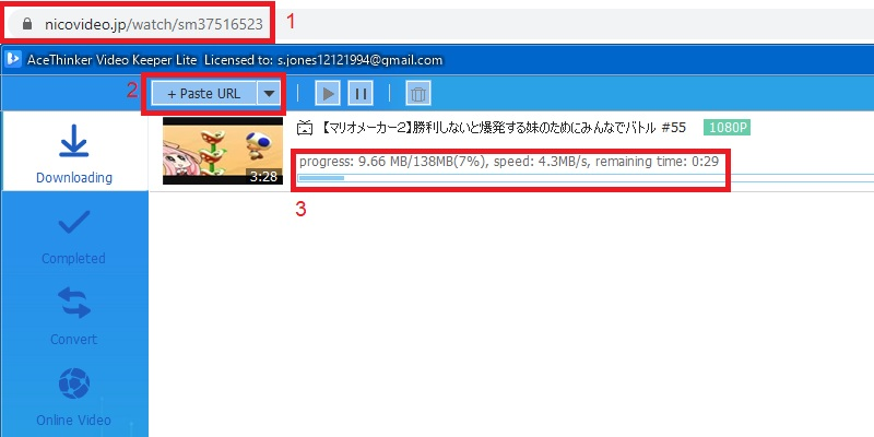 vklite download niconico step3